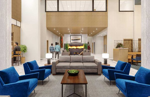 Wellings of Whitby Atrium Lounge Area